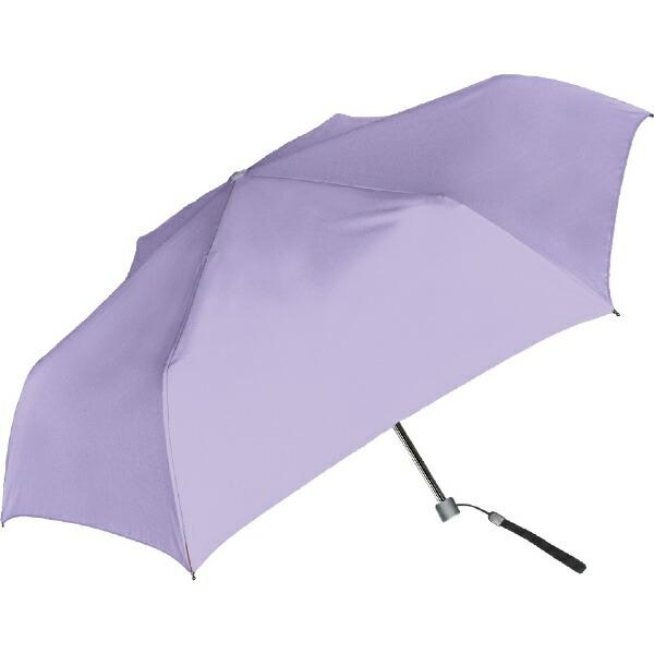 中谷NAKATANI【折りたたみ傘】無地スリム・50cm60255パステルパープル