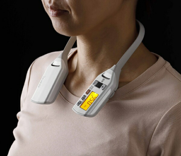 ツインバードTWINBIRD携帯ラジオ着るラジオパールホワイトAV-J336[防滴ラジオ/AM/FM/ワイドFM対応][AVJ336PW]
