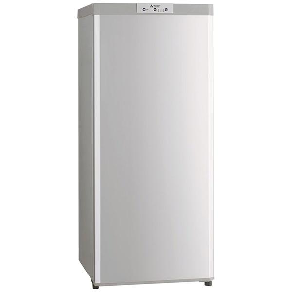 三菱MitsubishiElectric《基本設置料金セット》MF-U12D-S冷凍庫Uシリーズシルバー[1ドア/右開きタイプ/121L][MFU12DS]