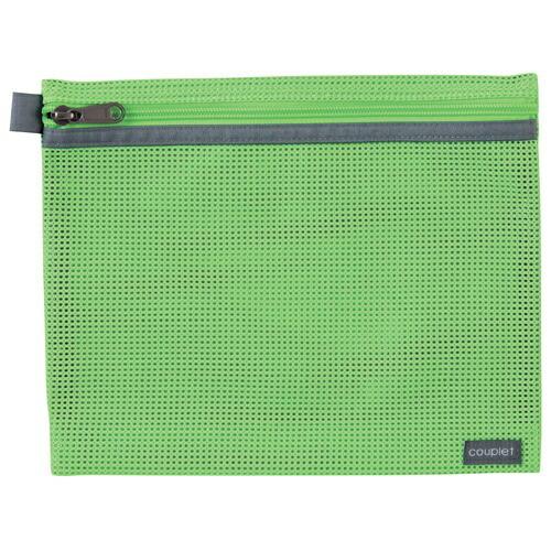セキセイSEKISEICP-3355クプレメッシュケースM(A5)ライトグリーン