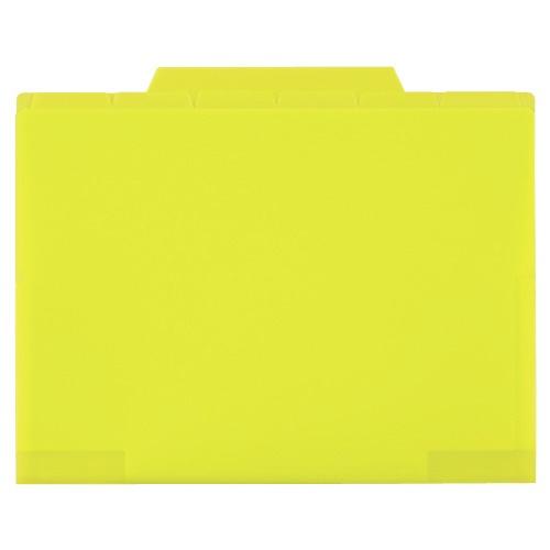 セキセイSEKISEIACT-506アクティフ6インデックスフォルダーA5ライトグリーン