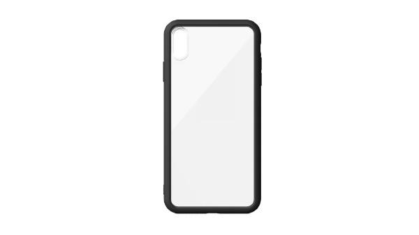 ABSOLUTETECHNOLOGYアブソルートLINKASEAIRwithGorillaGlassforiPhoneXSMax(側面TPU:ブラック)ATAIRIPXSM/BK