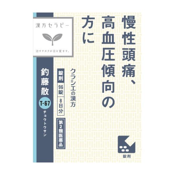 【第2類医薬品】釣藤散エキス錠N96錠【wtmedi】クラシエKracie