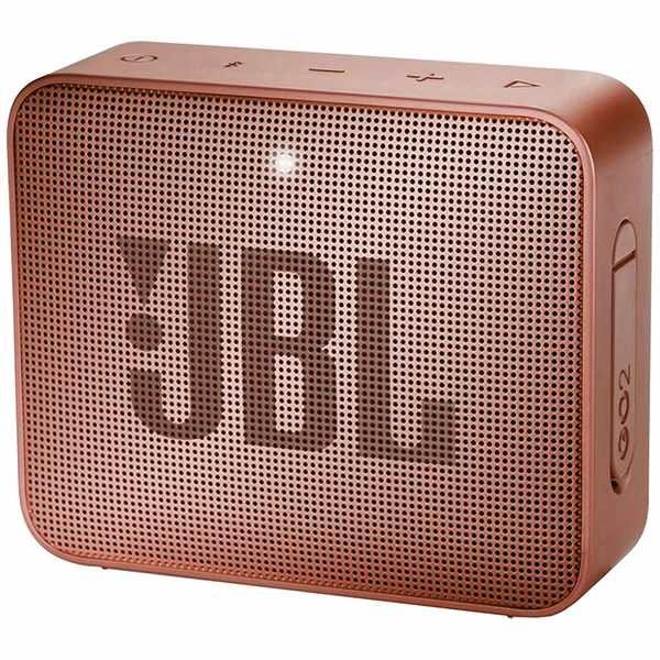 JBLジェイビーエル【ビックカメラグループオリジナル】ブルートゥーススピーカーJBLGO2CINNAMONシナモン[Bluetooth対応/防水][JBLGO2CINNAMON]【point_rb】