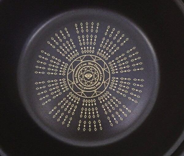 パール金属PEARLMETALIHガラス蓋付すきやき鍋NEW贅の極みブルーダイヤモンドコートHB-3257[26cm/IH対応][HB3257]