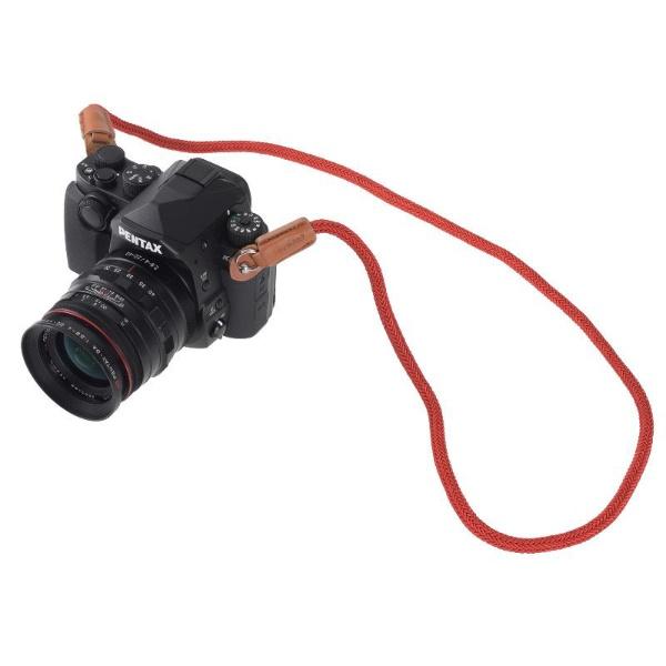 アルヌボARNUVOAR0323カメラストラップシルキーロープレッド
