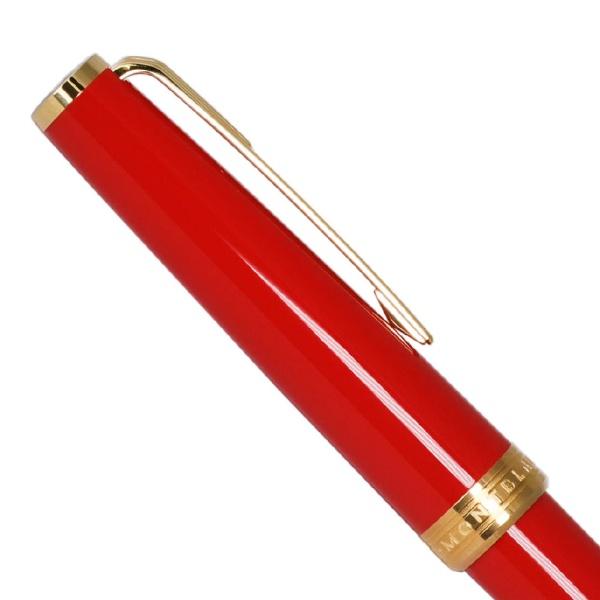 モンブランMONTBLANC[水性ボールペン]PIXローラーボール117654レッド/ゴールド