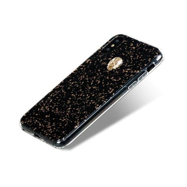 BlingMyThingブリングマイシングiPhoneXS対応TreasureBlackBMI9SCSDLTBGSGOLDSKULL
