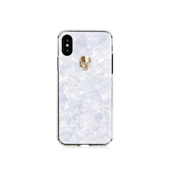 BlingMyThingブリングマイシングiPhoneXS対応TreasureWhiteBMI9SCSDLTWGSGOLDSKULL