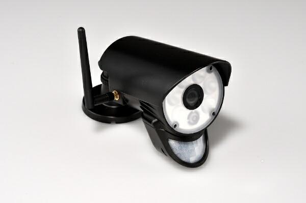 ユニデンunidenセンサーライト付ワイヤレスセキュリティカメラ・モニターセット「GUARDIANガーディアン」UCL9001