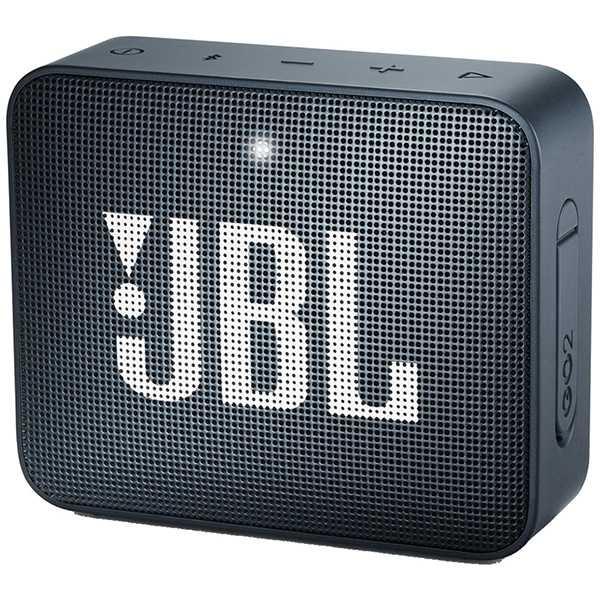 JBLジェイビーエル【ビックカメラグループオリジナル】ブルートゥーススピーカーJBLGO2NAVYネイビー[Bluetooth対応/防水][JBLGO2NAVY]【point_rb】