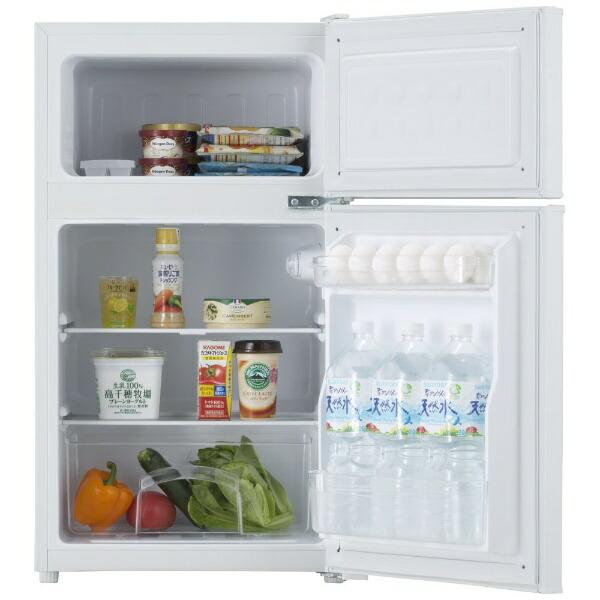ハイアールHaier冷蔵庫JoySeriesホワイトJR-N85C-W[2ドア/右開きタイプ/85L][冷蔵庫一人暮らしJRN85C]【zero_emi】