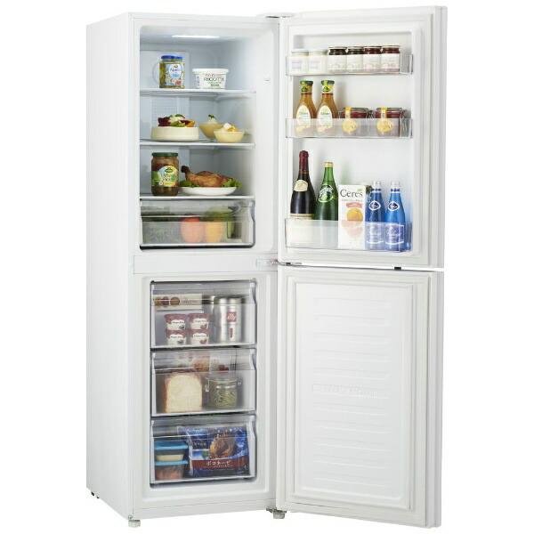 ハイアールHaier《基本設置料金セット》JR-NF218B-W冷蔵庫GlobalSeriesホワイト[2ドア/右開きタイプ/218L][JRNF218B]【zero_emi】