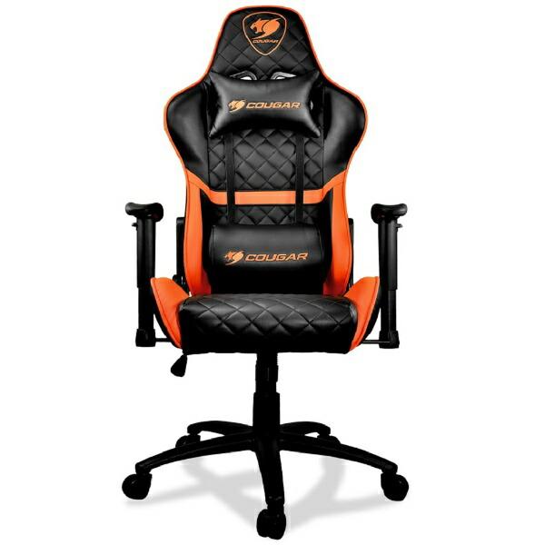 【Gaming Goods】 ゲーミングチェア COUGAR ARMOR Black gaming chair CGR-NXNB-ARB スタイリッシュなフルブラックの外観