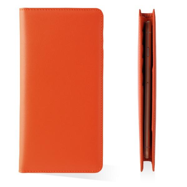 UFFIZIウフィツィお札も入る手帳型汎用ケース「シモーニ」UFZLMCSMN-ORオレンジ