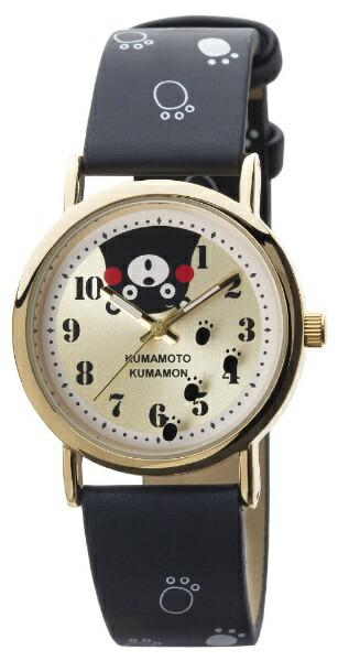 くまモンKUMAMONKUMANONくまモン柄腕時計[レディース腕時計]くまモンKM-AL082-BKG[正規品]