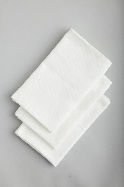 アイセンaisenホワイトふきん3枚入KFL02ホワイト