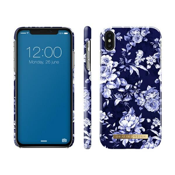 IDEALOFSWEDENiPhoneXSMAX用ケースセイラーブルーブルームIDFCS18-I1865-69