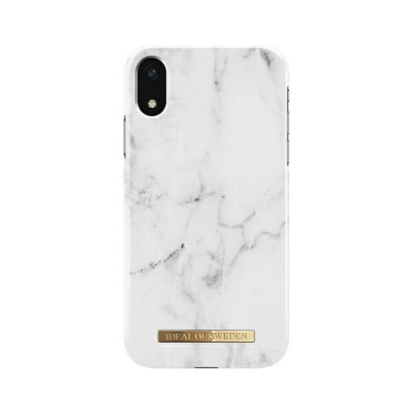 IDEALOFSWEDENiPhoneXR用ケースホワイトマーブルIDFC-I1861-22