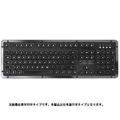 AZIOアジーオMK-RETRO-BT-L-01-JPキーボードRetroClassicオニックス[Bluetooth・USB/有線・ワイヤレス][MKRETROBTL01JP]