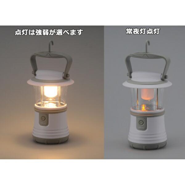 オーム電機OHMELECTRICLN-40B7-Wランタン電球色[LED/単1乾電池×3]