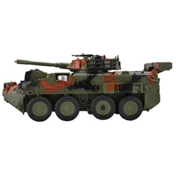 童友社DOYUSHA赤外線バトルシステム搭載R/Cバトルヴィークルジュニア8輪装甲車グリーン迷彩27MHz