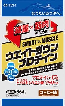 井藤漢方製薬ITOHウェイトダウンプロテイン364g