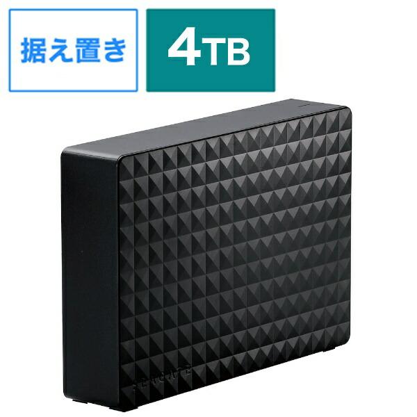 エレコムELECOMSGD-MX040UBK外付けHDDブラック[4TB/据え置き型][SGDMX040UBK]