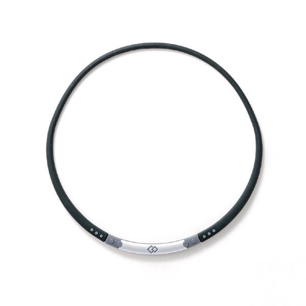 コラントッテColantotteネックレスワックルネックSPORT(ブラック×グレー/Lサイズ)