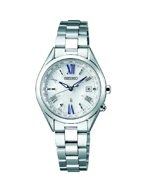 セイコーSEIKOルキア(LUKIA)Tiワールドタイム[レディース腕時計/ソーラー電波]SSQV053