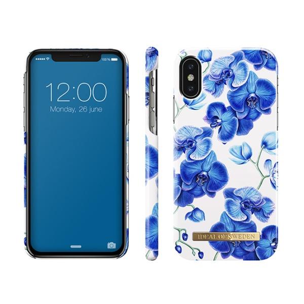 IDEALOFSWEDENiPhoneXS/X用ケースベイビーブルーオーキッドIDFCS18-IXS-70