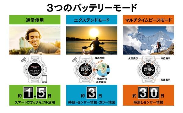 カシオCASIOWSD-F30-RGメンズスマートウォッチPROTREKSmart(プロトレックスマート)オレンジ[WSDF30RG]
