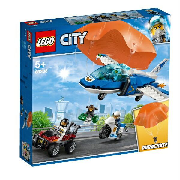レゴジャパンLEGOLEGO(レゴ)60208シティパラシュート逮捕[レゴブロック]
