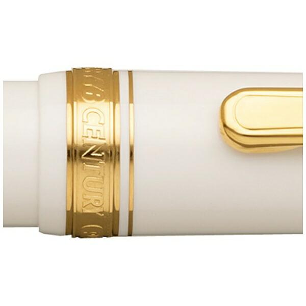 プラチナ萬年筆PLUTINUM[万年筆]#3776センチュリーペン先:SF(細軟字)PNB-13000#2FP/SFシュノンソーホワイト