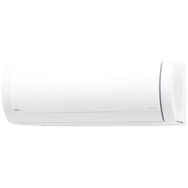 富士通ゼネラルFUJITSUGENERALAS-X40J2-Wエアコン2019年nocria(ノクリア)Xシリーズホワイト[おもに14畳用/200V][ASX40J2W+AOX40J2]
