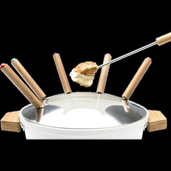 プリンセスPRINCESS173030卓上電気鍋TableFondue&FryPure(テーブルフォンデュアンドフライピュア)ホワイト[173030]