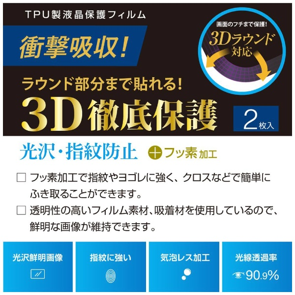 ナカバヤシNakabayashiAppleWatch40mmSeries4用液晶保護フィルム衝撃吸収/光沢/指紋防止SMWAW401TFLS[SMWAW401TFLS]