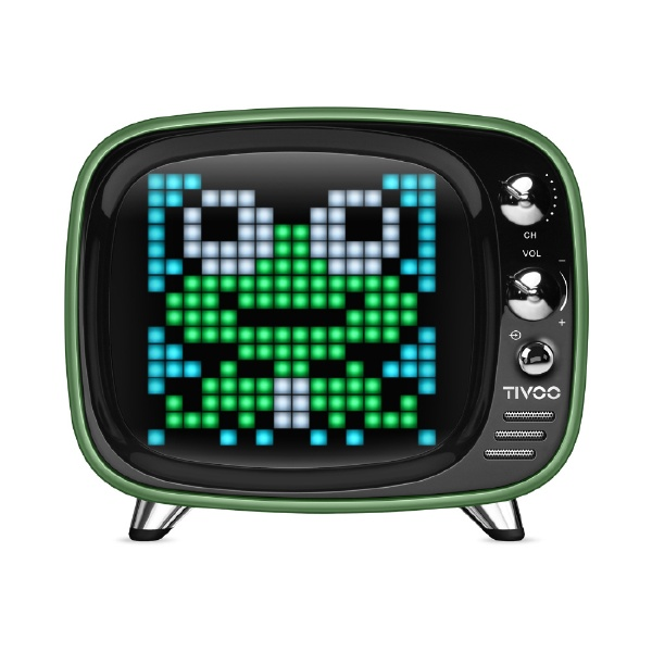 FOXTIVOOGREENブルートゥーススピーカーグリーン[Bluetooth対応][TIVOOGREEN]