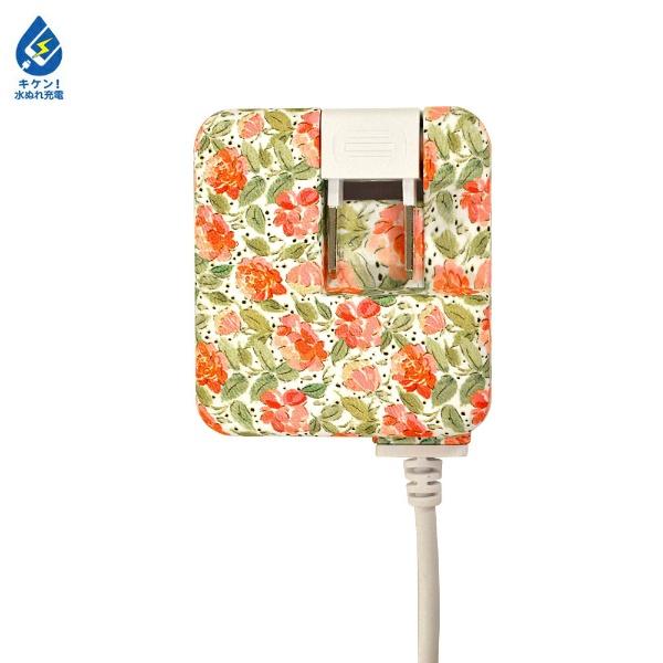 ラスタバナナRastaBanana[microUSB]ケーブル一体型AC充電器2.1A1.6mR16ACM2A01PKBピンクブーケ
