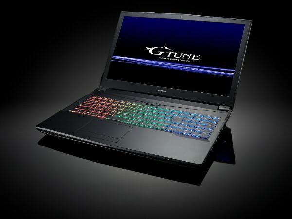 G-TuneG-Tune15.6型ノートPCWin10/Corei78700/メモリ16GB/m.2SSD256GB/1TBHDD/GTX1060(6GB)NG-N-IPI87S25G106