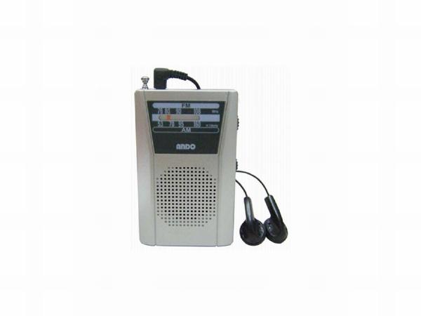 ANDOアンドーインターナショナル携帯ラジオR18544[AM/FM/ワイドFM対応][R18544]