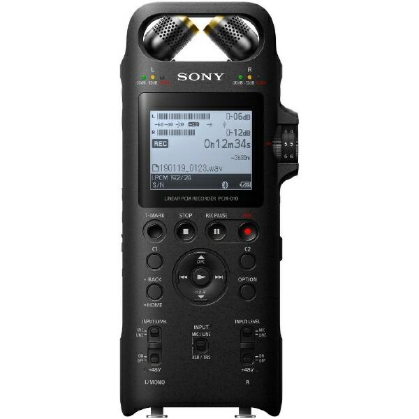 ソニーSONYリニアPCMレコーダーPCM-D10[16GB/Bluetooth対応/ハイレゾ対応][録音機ボイスレコーダー小型高音質PCMD10]