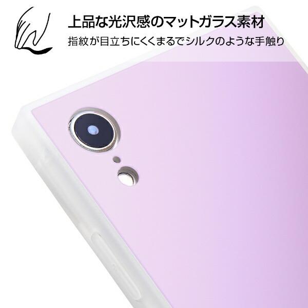 イングレムIngremiPhoneXR耐衝撃ガラスケースKAKUシルクIQ-P18K2C/MGミントグリーン