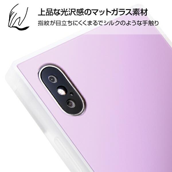 イングレムIngremiPhoneXS/X耐衝撃ガラスケースKAKUシルクIQ-P20K2C/MGミントグリーン