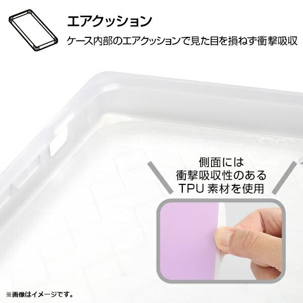 イングレムIngremiPhoneSE(第2世代)4.7インチ/iPhone8/7耐衝撃ガラスケースKAKUシルクIQ-P7K2C/LDラベンダー