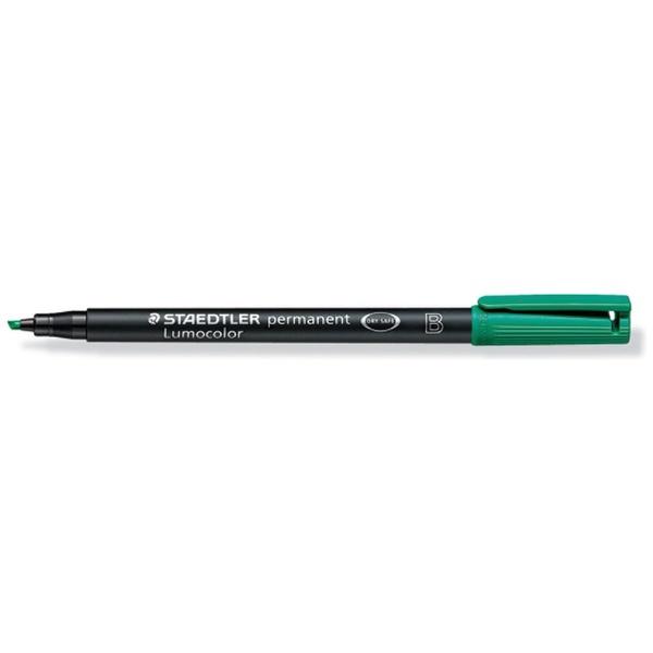 ステッドラーSTAEDTLERルモカラーペン太Bグリーン