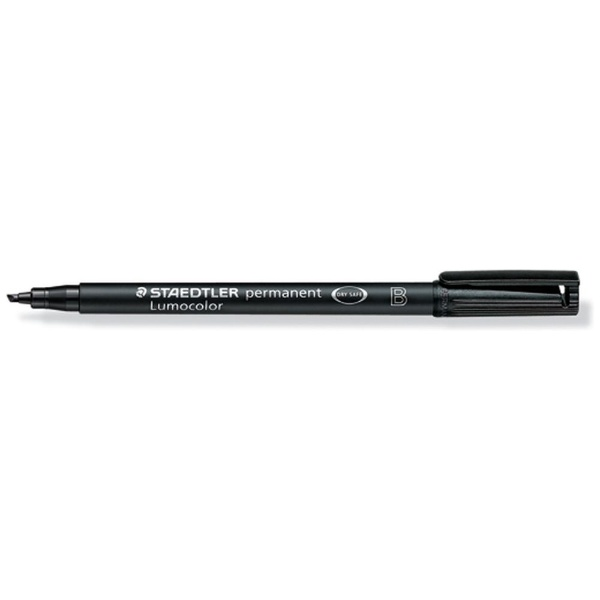ステッドラールモカラーペン太Bブラック