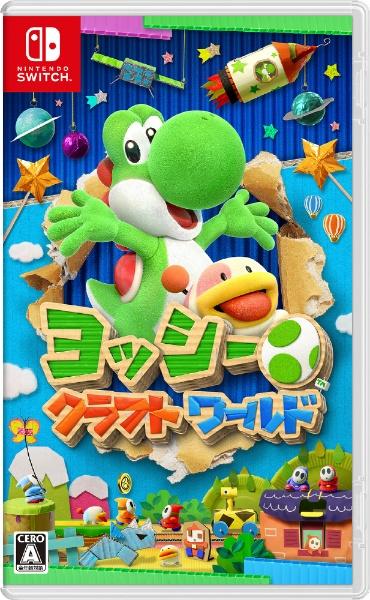 任天堂Nintendoヨッシークラフトワールド【Switch】