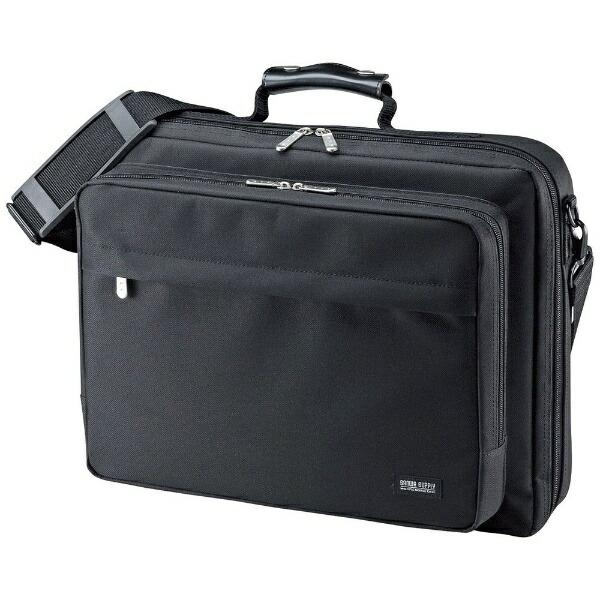 サンワサプライSANWASUPPLYPCキャリングバッグ(15.6インチワイド・シングル・ブラック)BAG-U54BK2[BAGU54BK2]