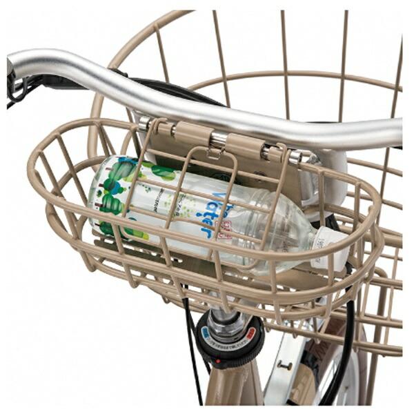 ブリヂストンBRIDGESTONE24型電動アシスト自転車イルミオ(E.Xサンドベージュ/内装3段変速)IL4B49【2019年モデル】【組立商品につき返品不可】【代金引換配送不可】